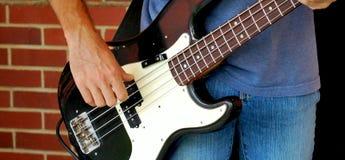 Bass Guitarist imagens de stock royalty free