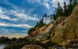 Bass Harbor Head immagine stock