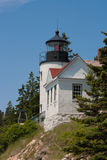 Bass Harbor Head Light Image stock