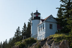 Bass Harbor Head Light Fotografie Stock
