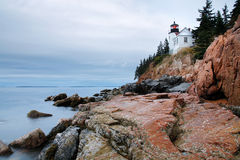 Bass Harbor Head Light. Acadia National Park, Maine stock images
