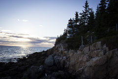 Bass Harbor Head Light Photographie stock