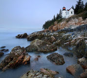 Bass Harbor Head Light. Acadia National Park, Maine Royalty Free Stock Images
