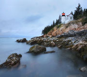Bass Harbor Head Light, Acadia, Maine Stock Images