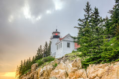 Bass Harbor Head Light, Acadia National Park, Maine Stock Photography