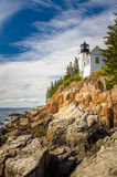 Bass Harbor Head Light Stock Photos