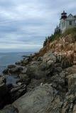 Bass Harbor Head lighthouse Royalty Free Stock Photo