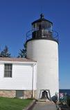 Bass Harbor Head Lighthouse. On Mount Desert Island, Maine, part of Acadia National Park stock photography