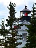 Bass Harbor Head Lighthouse fotografie stock