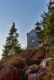 Bass Harbor Head Lighthouse Lizenzfreie Stockfotos