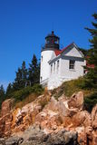 Bass Harbor Head Lighthouse Stock Image