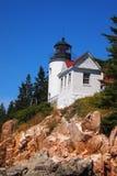 Bass Harbor Head Lighthouse Stock Image