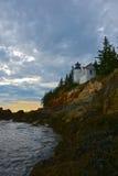 Bass Harbor Head Lighthouse Royalty Free Stock Photography