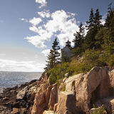 Bass Harbor Light Royalty Free Stock Photography