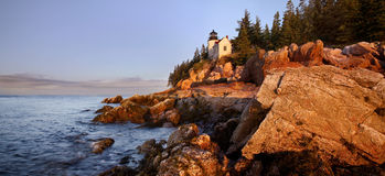 Bass Harbor Light Stock Photo