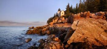 Bass Harbor Light Stock Photo