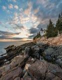 Bass Harbor Light. In Acadia National Park stock photography