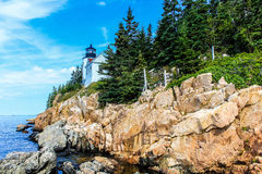 Bass Harbor Light Royalty Free Stock Photo