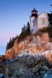 Bass Harbor Lighthouse Stock Photos