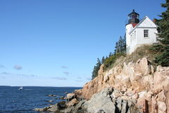 Bass Harbor Lighthouse Stock Image