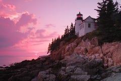 Bass Harbor Lighthouse Imagens de Stock