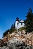 Bass Harbor Lighthouse Royalty-vrije Stock Afbeelding