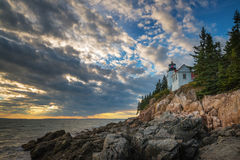 Bass Harbor Lighthouse Images stock