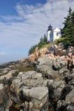 Bass Harbor Lighthouse, Acadia national park Stock Photos
