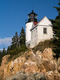 Bass Harbor Lighthouse, Acadia National Park Stock Images