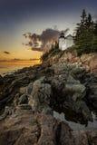 Bass Harbor Lighthouse Stock Photography