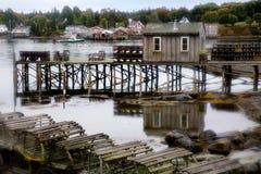 Bass Harbor, Maine. Bass Harbor, Mount Desert Island, Acadia National Park, Maine royalty free stock photos