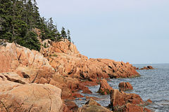 Bass Harbor Maine Stock Photo