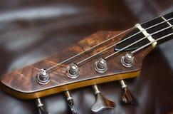 Bass headstock Royalty Free Stock Photo