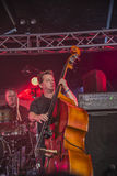 On bass Ian Jennings Royalty Free Stock Photos