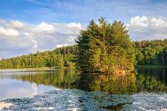 Bass Lake Blowing Rock North Carolina Royalty Free Stock Image
