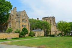Bass Library Yale University, CT, USA Arkivfoton
