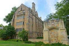 Bass Library Yale University, CT, USA Royaltyfria Foton