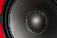Bass loudspeaker Royalty Free Stock Photography