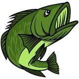 Bass Mascot Royalty Free Stock Photo