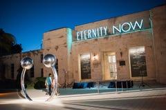 Bass Museum da arte em Miami Beach Imagem de Stock Royalty Free
