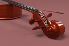 Bass - musical instrument Stock Photography