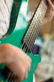 Bass player Royalty Free Stock Photos