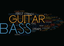 Bass Players Word Cloud Concept Immagini Stock
