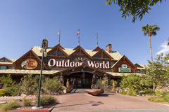 Bass Pro Shop all'hotel di Silverton a Las Vegas, NV agosto Immagine Stock