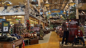 Bass Pro Shop at Silverton Hotel and Casino in Las Vegas, Nevada Royalty Free Stock Images