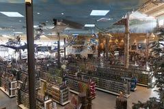 Bass Pro Shop utomhus- värld på det Silverton hotellet i Las Vegas Royaltyfria Foton