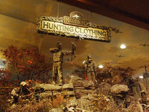 Bass Pro Shops, Springfield, habillement de MO Display Images libres de droits