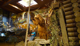 Bass Pro Shops, Springfield, Missouri Bear in entry Royalty Free Stock Image