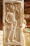 Bass-Relief at Jetavana Dagoba, Sri Lanka Royalty Free Stock Image