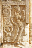 Bass-Relief at Jetavana Dagoba, Sri Lanka Royalty Free Stock Photo